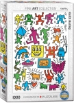 COLLAGE BY KEITH HARING