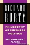 (P/B) PHILOSOPHY AS CULTURAL POLITICS