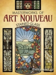 (P/B) MASTERWORKS OF ART NOUVEAU STAINED GLASS