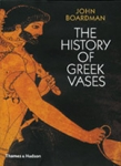 (P/B) THE HISTORY OF GREEK VASES