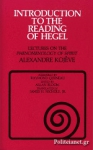 (P/B) INTRODUCTION TO THE READING OF HEGEL
