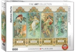 THE FOUR SEASONS BY ALFONSE MUCHA - OFFICIALLY LICENCED MUSEUM