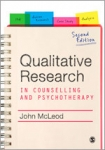 (P/B) QUALITATIVE RESEARCH IN COUNSELLING AND PSYCHOTHERAPY