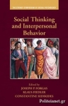 (H/B) SOCIAL THINKING AND INTERPERSONAL BEHAVIOR