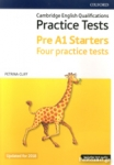 STARTERS PRE A1 FOUR PRACTICE TESTS (+INCLUDES TEST AUDIO - UPDATED FOR 2018)