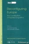 (P/B) RECONFIGURING EUROPE - THE CONTRIBUTION OF APPLIED LINGUISTICS