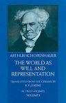 (P/B) THE WORLD AS WILL AND REPRESENTATION (VOLUME I)