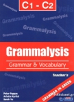 GRAMMALYSIS C1 - C2 TEACHER'S BOOK