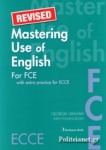 MASTERING USE OF ENGLISH FOR FCE (REVISED)