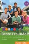 BESTE FREUNDE 2 A2 (+2AUDIO-CD)