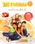 (PACK) JUS D'ORANGE 1 (A1.1) (LIVRE DE L' ELEVE+CAHIER D' ACTIVITES+TRANSCRIPTIONS+DVD-ROM+CARTE DE FRANCE), METHODE DE FRANCAIS