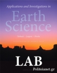 (P/B) APPLICATIONS AND INVESTIGATIONS IN EARTH SCIENCE