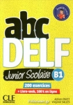 ABC DELF B1 JUNIOR SCOLAIRE (+DVD +CORRIGES ET TRANSCRIPTIONS)