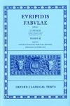 (H/B) EURIPIDES: FABULAE (VOLUME II)