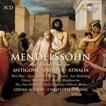 (3-CD SET) INCIDENTAL MUSIC FOR ANTIGONE, OEDIPUS, ATHALIA