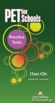 5CD - PET FOR SCHOOLS PRACTICE TESTS - CLASS CDs