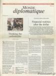 LE MONDE DIPLOMATIQUE NOVEMBER 2008