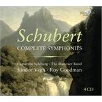 (4-CD SET) SCHUBERT: COMPLETE SYMPHONIES