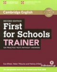CAMBRIDGE ENGLISH FIRST FOR SCHOOLS TRAINER (2015)