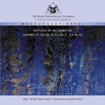 (CD) PICTURES AT AN EXHIBITION - DAPHNIS ET CHLOE: SUITE NO. 2, LA VALSE