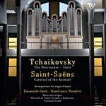 (CD) TCHAIKOVSKY: THE NUTCRACKER SUITE, SAINT-SAENS: CARNIVAL OF THE ANIMALS