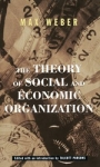 (P/B) THE THEORY OF SOCIAL AND ECONOMIC ORGANIZATION