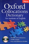 OXFORD COLLOCATIONS DICTIONARY (+CD-ROM)