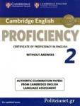 CAMBRIDGE ENGLISH PROFICIENCY 2