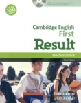 CAMBRIDGE ENGLISH FIRST RESULT (+DVD)