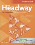 NEW HEADWAY PRE-INTERMEDIATE WORKBOOK WITH KEY (FOURTH EDITION) (+iCHECKER CD-ROM)
