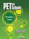 PET FOR SCHOOLS PRACTICE TESTS TEACHER'S BOOK