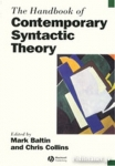 (P/B) THE HANDBOOK OF CONTEMPORARY SYNTACTIC THEORY