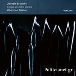 (CD) JOSEPH BRODSKY: ELEGIE AN JOHN DONNE