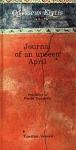 JOURNAL OF AN UNSEEN APRIL