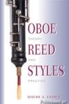 (P/B) OBOE REED STYLES