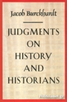 (P/B) JUDGMENTS ON HISTORY AND HISTORIANS