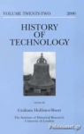 (H/B) HISTORY OF TECHNOLOGY (VOLUME 22)