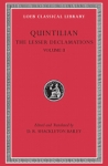 (H/B) QUINTILIAN: THE LESSER DECLAMATIONS (VOLUME II)