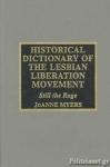 (CLOTH) LESBIAN LIBERATION MOVEMENT - HISTORICAL DICTIONARY