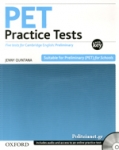 PET PRACTICE TESTS WITH KEY (+CD)