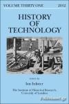 (H/B) HISTORY OF TECHNOLOGY (VOLUME 31)