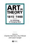 (P/B) ART IN THEORY 1815-1900