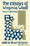 (H/B) THE ESSAYS OF VIRGINIA WOOLF (VOLUME 5)