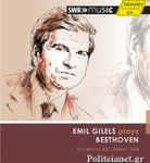 (CD) EMIL GILELS PLAYS BEETHOVEN