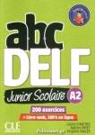 ABC DELF A2 JUNIOR SCOLAIRE (+DVD, CORRIGES ET TRANSCRIPTIONS)