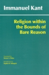 (P/B) RELIGION WITHIN THE BOUNDS OF BARE REASON