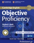 OBJECTIVE PROFICIENCY STUDENT'S BOOK WITHOUT ANSWERS (+DOWNLOADABLE SOFTWARE)