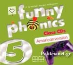 CD - FUNNY PHONICS 5 (AMERICAN VERSION)