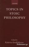 (P/B) TOPICS IN STOIC PHILOSOPHY