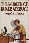 (H/B) THE MURDER OF ROGER ACKROYD